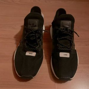 Men's used adidas sneakers size 11 1/2 black